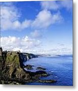 Co Antrim, Dunluse Castle Metal Print