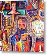 Co-crucified With Christ Metal Print