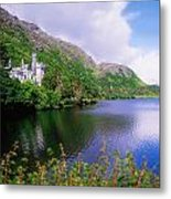Co Galway, Ireland, Kylemore Abbey Metal Print