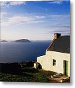 Co Kerry, Near Ballinskelligs, With Metal Print