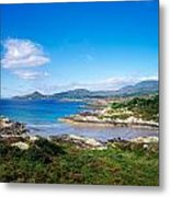 Co Kerry, Ring Of Kerry, Castlecove Metal Print