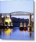 Co Louth, Drogheda And River Boyne Metal Print