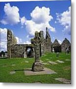 Co Offaly, Clonmacnoise Metal Print