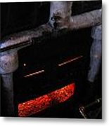 Coal Burner Face Metal Print