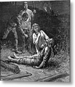 Coal Mine Disaster, 1884 Metal Print