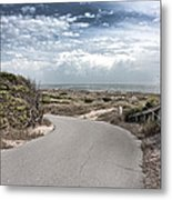 Coastal Bend Metal Print