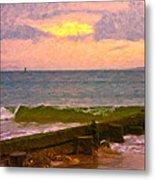Coastal Climate Metal Print