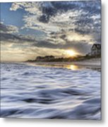 Coastal Currents Metal Print