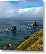 Coastal Look Metal Print