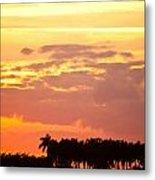 Coastal Sunset Boynton Beach Florida Metal Print