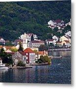 Coastal Town Of Montenegro Metal Print