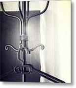 Coat Rack Metal Print by Joana Kruse