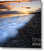 Cobblestone Sunset Metal Print