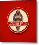 Cobra Emblem Metal Print