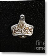 Coca Cola Bottle Opener Metal Print