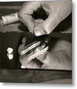 Cocaine Use Metal Print