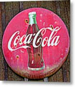 Coco Cola Sign Metal Print by Garry Gay