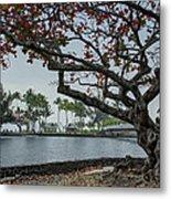 Coconut Island In Hilo Bay Hawaii Metal Print