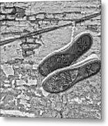 Codes Bricks And Roads  Metal Print