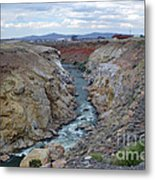 Cody Wyoming River Metal Print