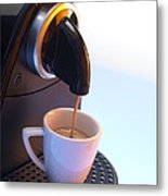 Coffee Machine Metal Print