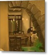 Coffee Shop 3c0 Metal Print