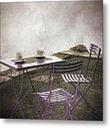Coffee Table Metal Print