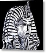Coffin Of The King Metal Print