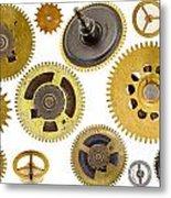 Cogwheels - Gears Metal Print by Michal Boubin