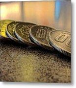 Coin Metal Print