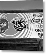 Coke At The Pier Metal Print