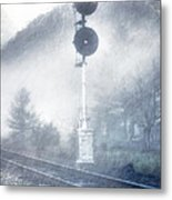 Cold And Foggy Metal Print