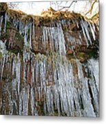 Cold Day In The Valley 4 Metal Print