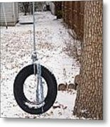 Cold Swing Metal Print