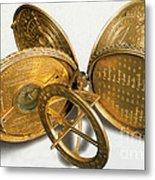Cole Astronomical Compendium Dial, 1569 Metal Print
