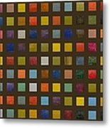 Collage Color Study Lll Metal Print