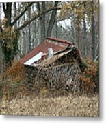Collapse Metal Print