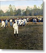 College Footbal Game, 1889 Metal Print