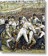 College Football Game, 1879 Metal Print