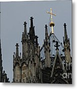 Cologne Cathedral Towers Metal Print
