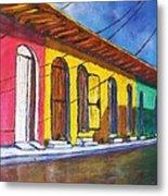 Colonial Homes Granada Nicaragua Metal Print