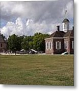Colonial Williamsburg Scene Metal Print