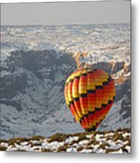 Color Above The Canyon Metal Print