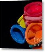 Color Balloons Metal Print