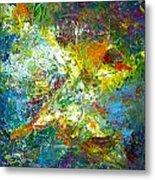 color explosion NO. Seventy Metal Print