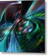 Color Fast Faces  Metal Print