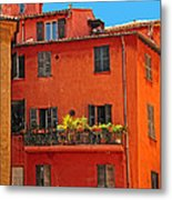 Color In Provence Metal Print