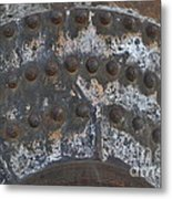 Color Of Steel 7a Metal Print