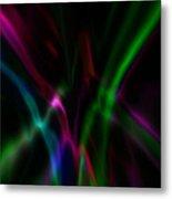 Color Rays Metal Print