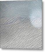 Color Sketch Of Wyoming Snow Metal Print